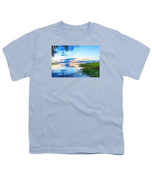 Youth T-Shirt featuring the photograph Lochloosa Lake by Anthony Baatz