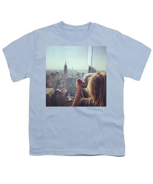 Looking Downtown In Style. #nyc Youth T-Shirt by Missy Davis