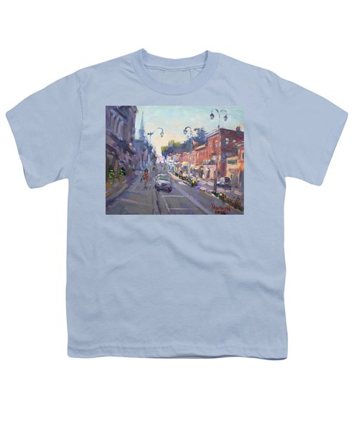 Main St Georgetown Downtown  Youth T-Shirt