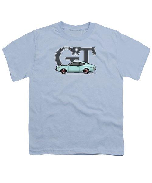 Mazda Savanna Gt Rx-3 Baby Blue Youth T-Shirt
