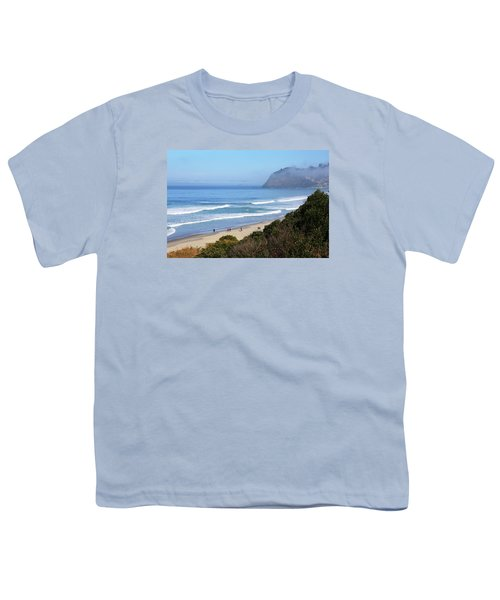 Misty Beach Morning Youth T-Shirt