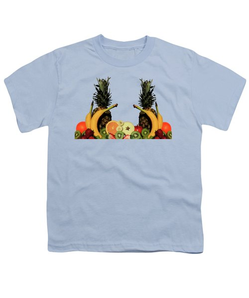 Mixed Fruits Youth T-Shirt by Shane Bechler