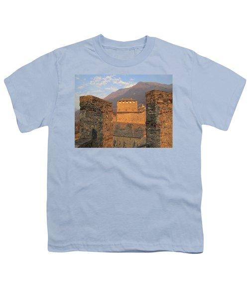 Montebello - Bellinzona, Switzerland Youth T-Shirt by Travel Pics