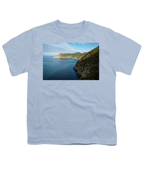 Monterosso And The Cinque Terre Coast Youth T-Shirt