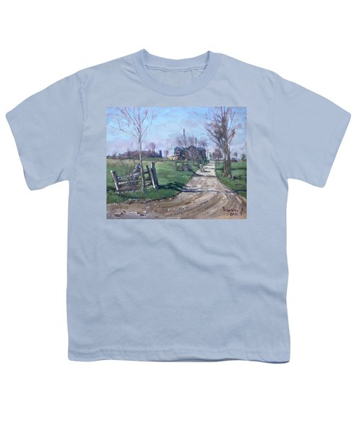 Morning In The Farm Georgetown Youth T-Shirt