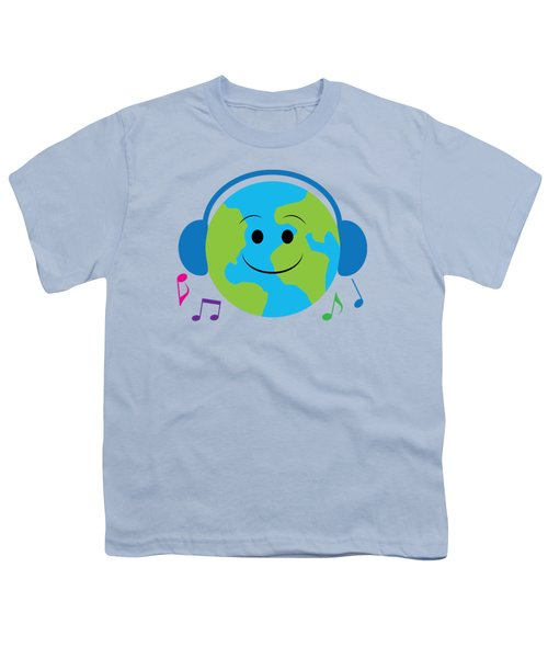 Musical World Youth T-Shirt by A