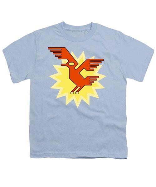 Native South American Condor Bird Youth T-Shirt