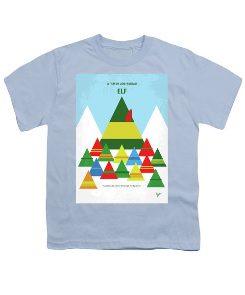 No699 My Elf Minimal Movie Poster Youth T-Shirt