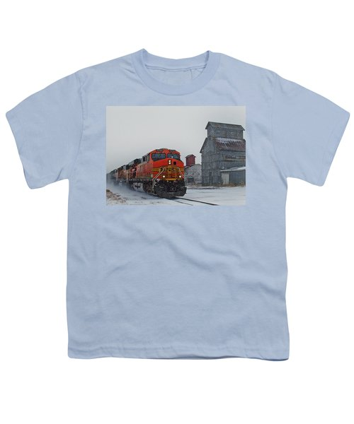 Northbound Winter Coal Drag Youth T-Shirt