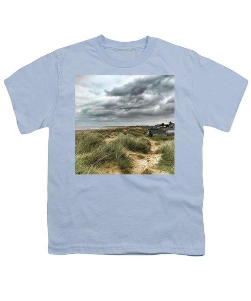 Old Hunstanton Beach, North #norfolk Youth T-Shirt