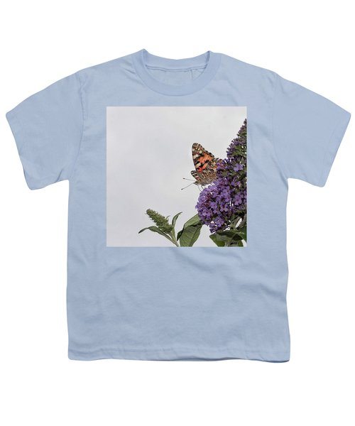 Painted Lady (vanessa Cardui) Youth T-Shirt