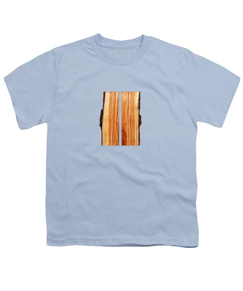 Parallel Wood Youth T-Shirt by YoPedro