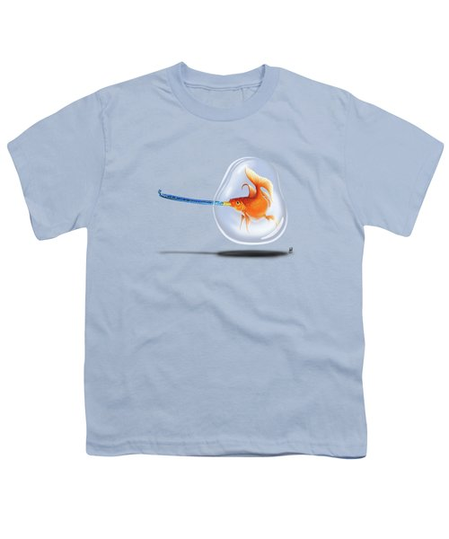 Popper Wordless Youth T-Shirt by Rob Snow