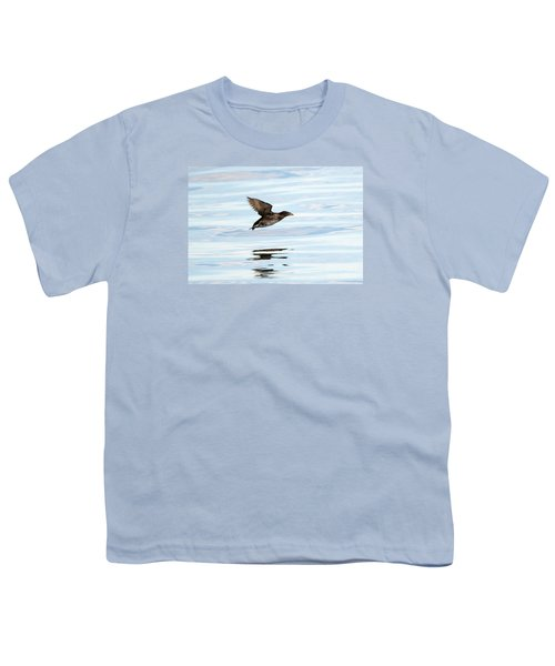 Rhinoceros Auklet Reflection Youth T-Shirt by Mike Dawson