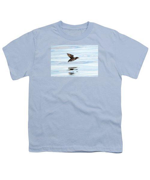 Rhinoceros Auklet Reflection Youth T-Shirt