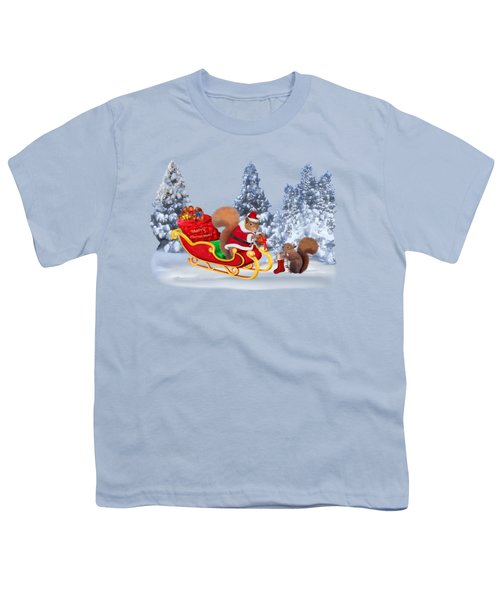 Santa's Little Helper Youth T-Shirt