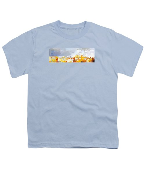 Skyline Cambridge, Uk Youth T-Shirt by Melissa Abbott
