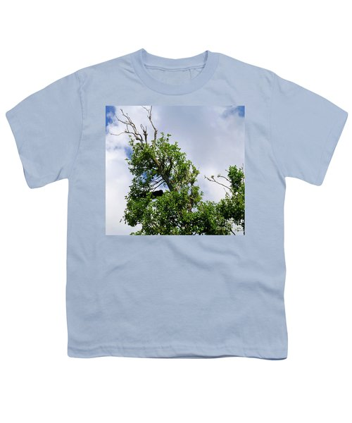 Youth T-Shirt featuring the photograph Sleeping Monkey 2 by Francesca Mackenney