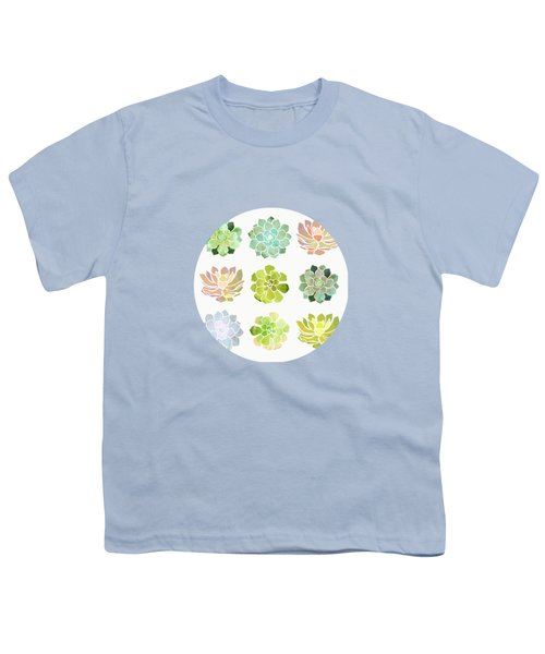 Spring Succulents Youth T-Shirt