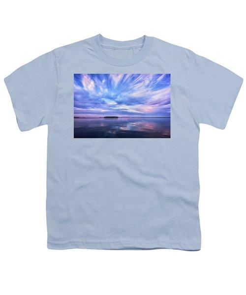 Sunset Awe  Signed Youth T-Shirt