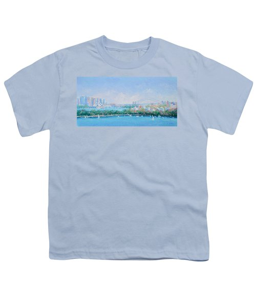 Sydney Harbour Bridge - Sydney Opera House - Sydney Harbour Youth T-Shirt