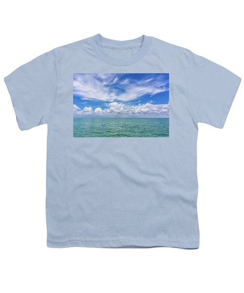 The Dance Of Clouds On The Sea Youth T-Shirt