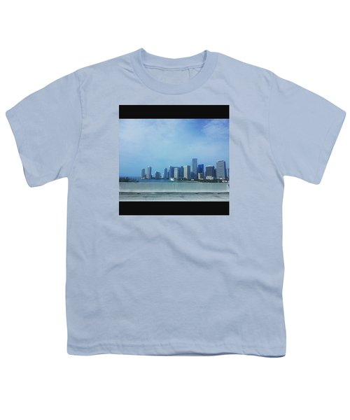Miami Cityscape Youth T-Shirt