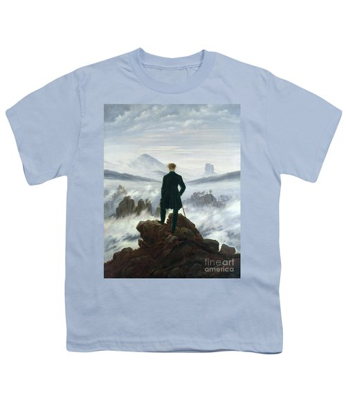 The Wanderer Above The Sea Of Fog Youth T-Shirt