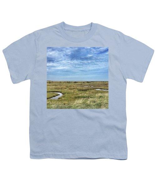 Thornham Marshes, Norfolk Youth T-Shirt