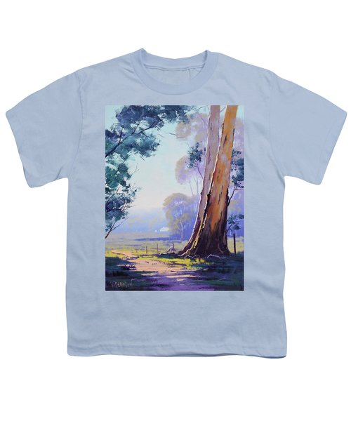 Track To The Farm Youth T-Shirt