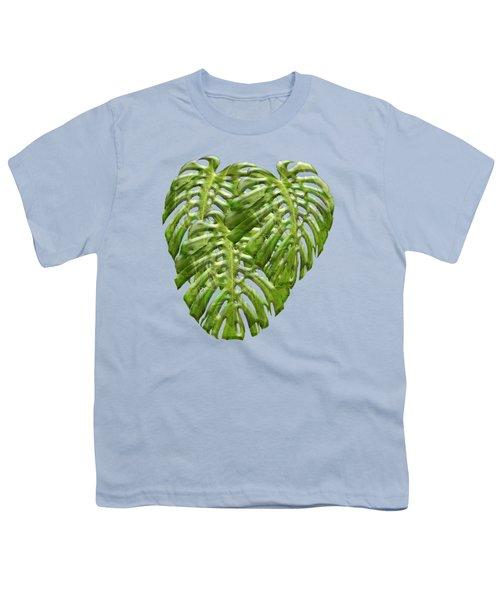 Tropical Jungle Greens Youth T-Shirt