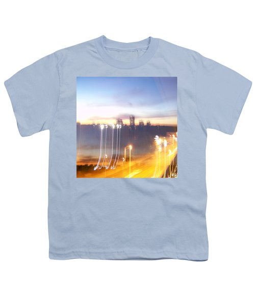 Uptown Toronto - Friday Night Youth T-Shirt by Serge Averbukh