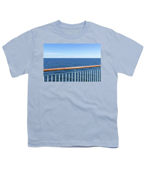 View At The Sea From Passenger Ship Youth T-Shirt