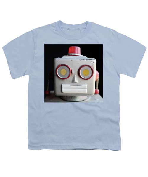 Vintage Robot Square Youth T-Shirt