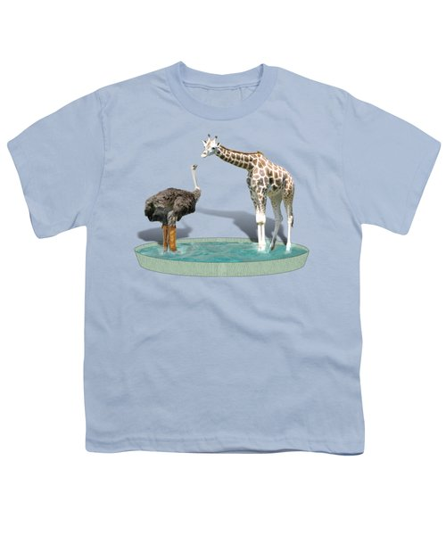 Wading Pool Youth T-Shirt by Gravityx9  Designs