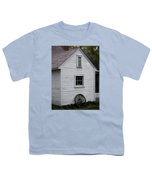 Wheel Youth T-Shirt by Frank J Casella