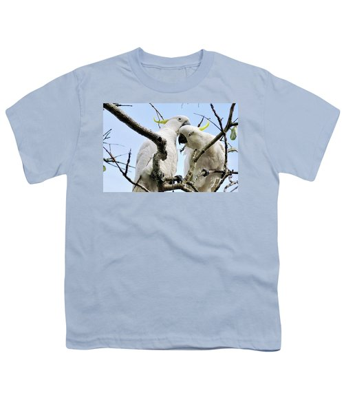 White Cockatoos Youth T-Shirt