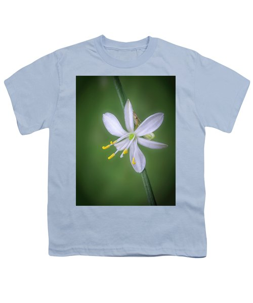 White Flower Youth T-Shirt