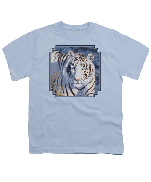 White Tiger - Crystal Eyes Youth T-Shirt