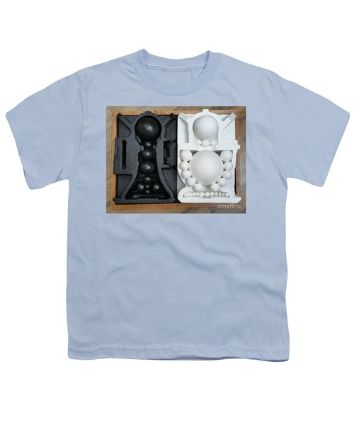 Youth T-Shirt featuring the painting Willendorf Wedding 2 by James Lanigan Thompson MFA