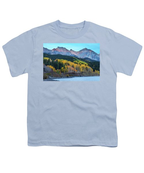 Youth T-Shirt featuring the photograph Mountain Trout Lake Wonder by James BO Insogna