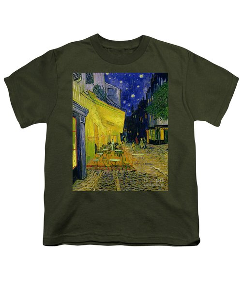 Cafe Terrace Arles Youth T-Shirt