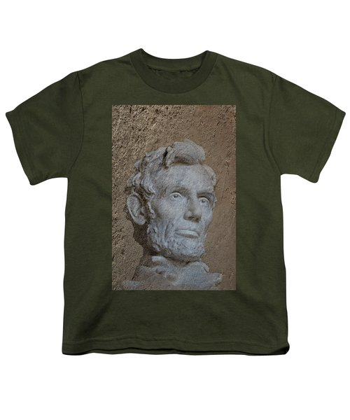 President Lincoln Youth T-Shirt by Skip Willits