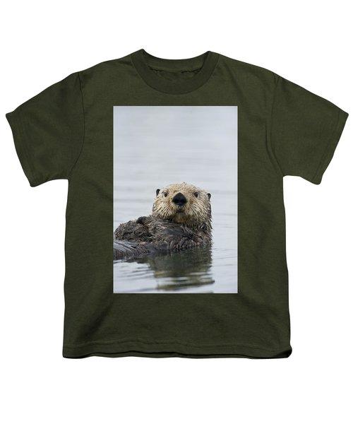 Sea Otter Alaska Youth T-Shirt