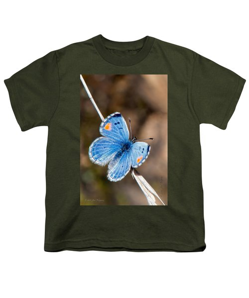 Youth T-Shirt featuring the photograph Sonoran Blue by Jim Thompson