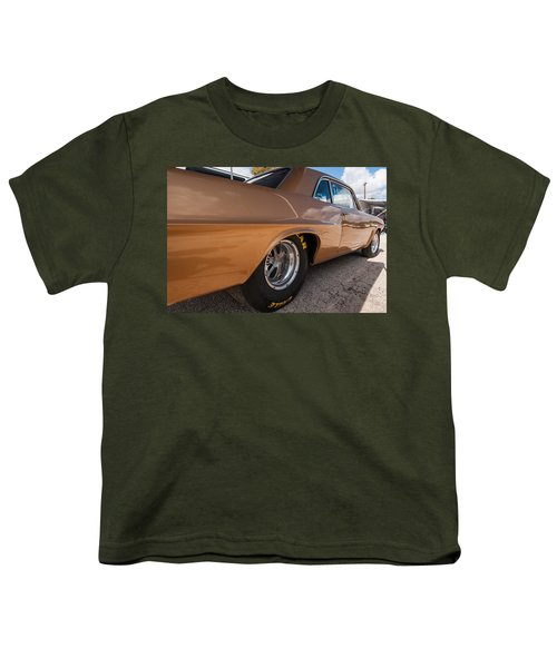 1963 Pontiac Lemans Race Car Youth T-Shirt