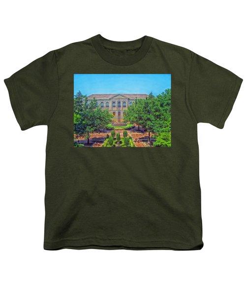 The Old Main - University Of Arkansas Youth T-Shirt