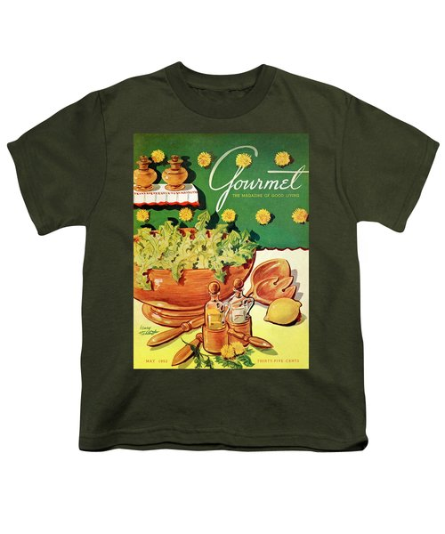 A Gourmet Cover Of Dandelion Salad Youth T-Shirt