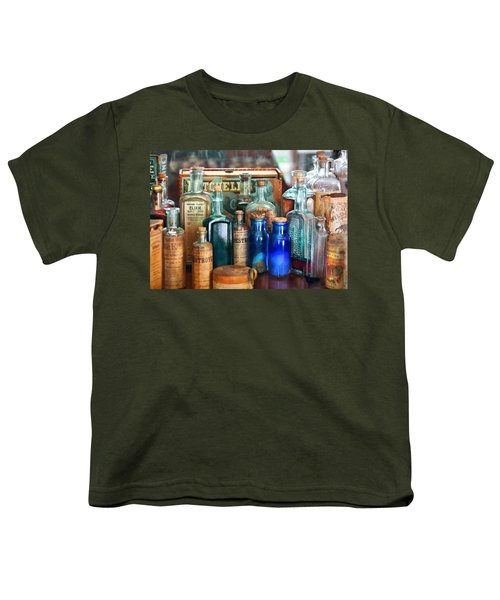 Apothecary - Remedies For The Fits Youth T-Shirt