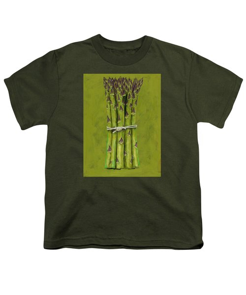 Asparagus Youth T-Shirt by Brian James